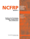 Guidance for Developing a Freight Transportation Data Architecture