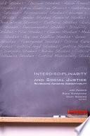 Interdisciplinarity and Social Justice