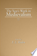 The Year S Work In Medievalism 2011