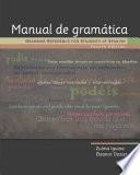 Manual de gramática: Grammar Reference for Students of Spanish