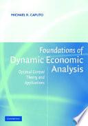 Foundations of Dynamic Economic Analysis