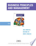 Business Principles and Management  12th Edition  Burrow Kleindl Everard  2008