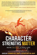 Character Strengths Matter Book PDF