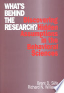 What s Behind the Research