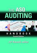 The ASQ Auditing Handbook, Fourth Edition