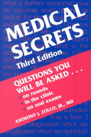 Medical Secrets : what a student or resident should...