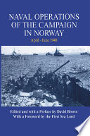Naval Operations Of The Campaign In Norway April June 1940