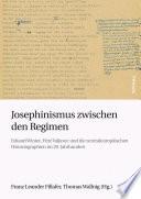 Josephinismus zwischen den Regimen