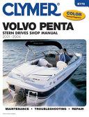 Volvo Penta Stern Drive Shop Manual 2001 2004