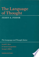 The Language Of Thought book