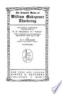 The Complete Works of William Makepeace Thackeray  Hitherto unidentified contributions to  Punch