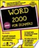 Word per Windows for dummies