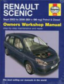 Renault Scenic Sept 2003 To 2006 53 To 06 Reg Petrol Diesel