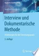 Interview und Dokumentarische Methode