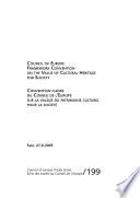 Convention cadre Du Conseil de L Europe Sur la Valeur Du Patrimoine Culturel Pour la Soci  t