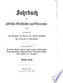 Jahrbuch f  r j  dische Geschichte und Literatur