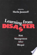 Learning from Disaster