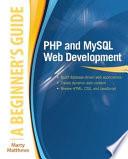 Php And Mysql Web Development A Beginner S Guide