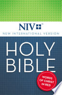 NIV  Holy Bible  eBook  Red Letter Edition