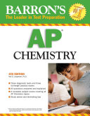 Barron s AP Chemistry And Test Taking Tips And Provides Three