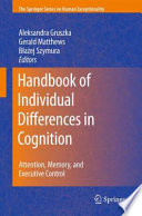 Handbook Of Individual Differences In Cognition book