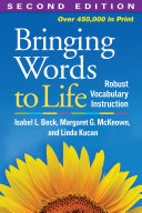 Bringing Words to Life, Second Edition Book