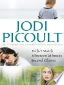 Jodi Picoult Bundle Nineteen Minutes Perfect Match Second Glance