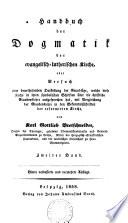 Handbuch der Dogmatik der evangelish-lutherischen Kirche