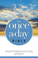 Once A Day Morning And Evening Bible Niv