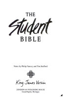 The New Student Bible King James Version