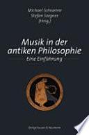 Musik in der antiken Philosophie
