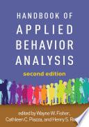 Handbook Of Applied Behavior Analysis Second Edition