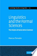Linguistics And The Formal Sciences book