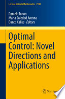 Optimal Control  Novel Directions and Applications