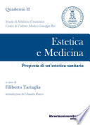 Estetica e medicina  Proposta di un estetica sanitaria