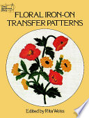 Floral Iron-on Transfer Patterns Be Transferred Onto Fabric For Crewel And