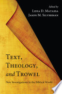 Text  Theology  and Trowel