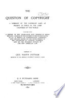 The Question of Copyright
