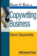 Start   Run a Copywriting Business