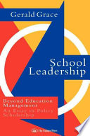 School Leadership book