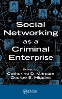 download ebook social networking as a criminal enterprise pdf epub