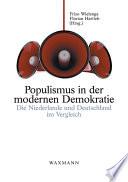 Populismus in der modernen Demokratie