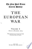The New York Times Current History of the European War