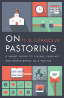 On Pastoring Book Cover