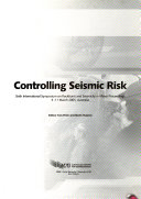 Controlling Seismic Risk book