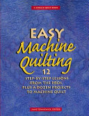 Easy Machine Quilting