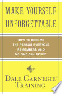 Make Yourself Unforgettable Book PDF