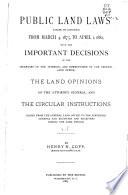 Public Land Laws
