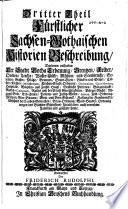 Gotha diplomatica, oder Ausführliche historische Beschreibung des Fürstenthums Sachsen-Gotha