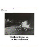 Nazi Book Burnings and the American Response